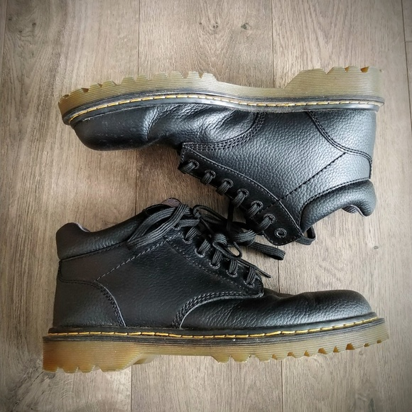 21ba625a35a87 Dr. Martens Shoes   Doc Martens Harrisfield Boots Lace Up Leather 12 ...